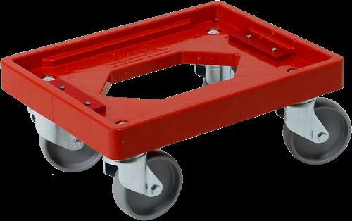 Dolly 400x300x175 mm met pp wielen