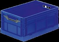 Clever Retail Box klapkrat 600x400x285 mm met versterkte bodem en afwateringsgaten