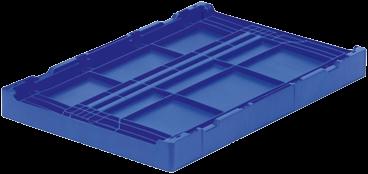 Clever Retail Box klapkrat 600x400x285 mm met versterkte bodem en afwateringsgaten-2