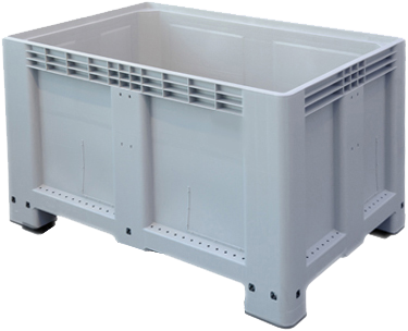 Palletbox 1200x800x800 mm grijs