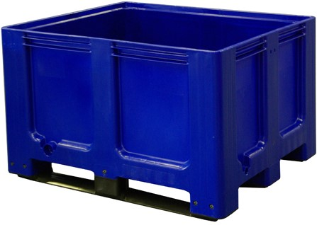 Palletbox 1200x1000x760 mm blauw