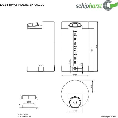 Doseercontainer 100 liter-2