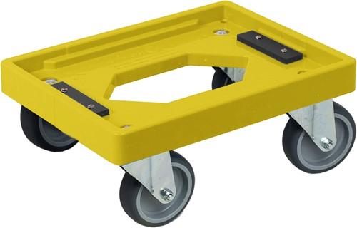 Dolly 400x300x175 mm met rubber wielen