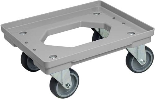 Dolly 410x317x175 mm met rubber wielen