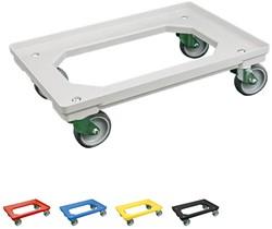 Dolly 610x410x175 mm met rubber wielen