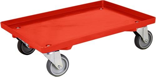Dolly 615x415x175 mm met rubber wielen