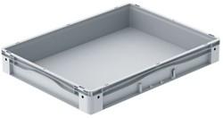 Basicline Plus stapelbak 800x600x120 mm