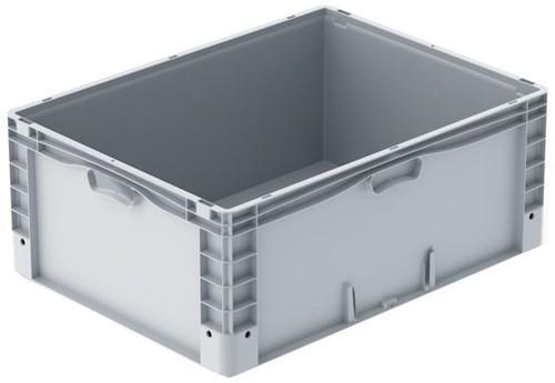 Basicline Plus stapelbak 800x600x320 mm met versterkte bodem
