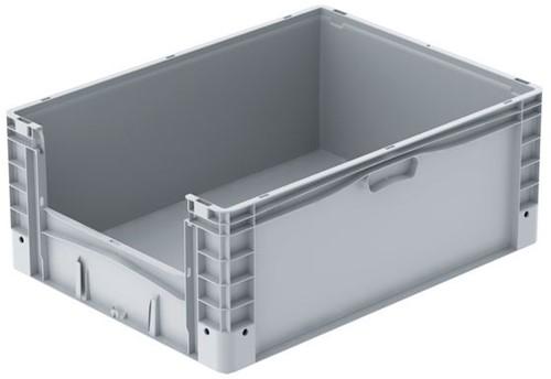 Basicline Plus uitpakbak 800x600x320 mm met versterkte bodem