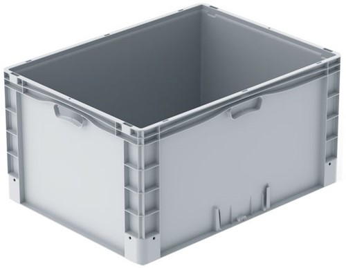 Basicline Plus stapelbak 800x600x420 mm met versterkte bodem