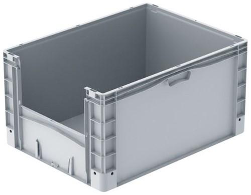 Basicline Plus uitpakbak 800x600x420 mm met versterkte bodem