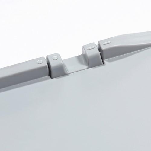 Verbindingselement t.b.v. scharnierend deksel Basicline grijs