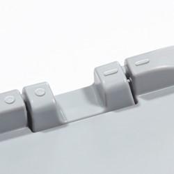 Verbindingselement tbv scharnierend deksel basicline