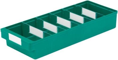 Magazijnbak 500x186x83 mm groen