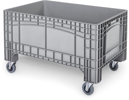 Verrijdbare palletbox 1200x800x730 mm
