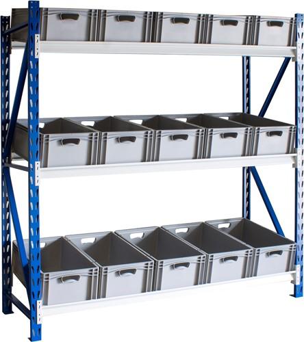 Bakkenstelling 2000x2020x600 mm | bakken 220 mm hoog