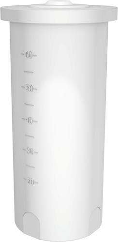 Rond open vat 60 liter