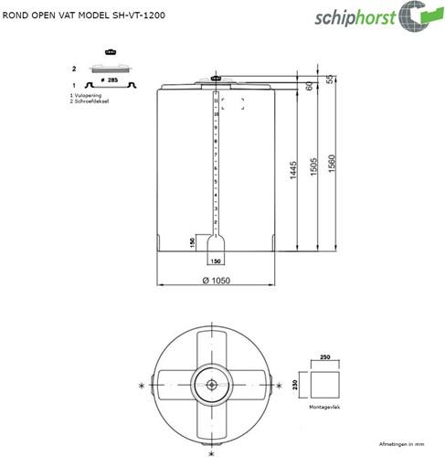 Opslagtank 1.200 liter-2