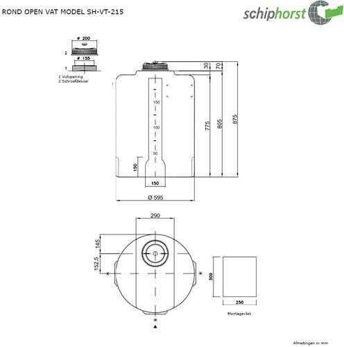 Opslagtank 215 liter-2