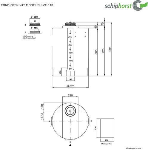 Opslagtank 310 liter-2