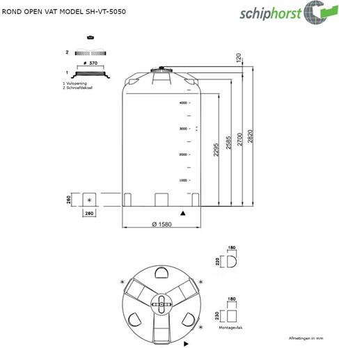 Opslagtank 5.050 liter-2