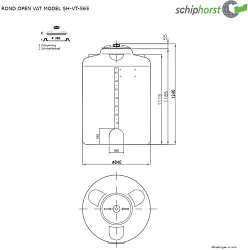 Opslagtank 565 liter-2
