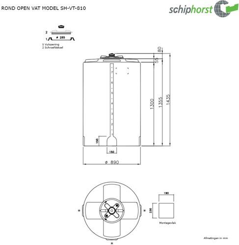 Opslagtank 810 liter-2