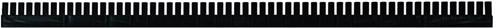 Vakverdeelstrip 1150x50x5 mm